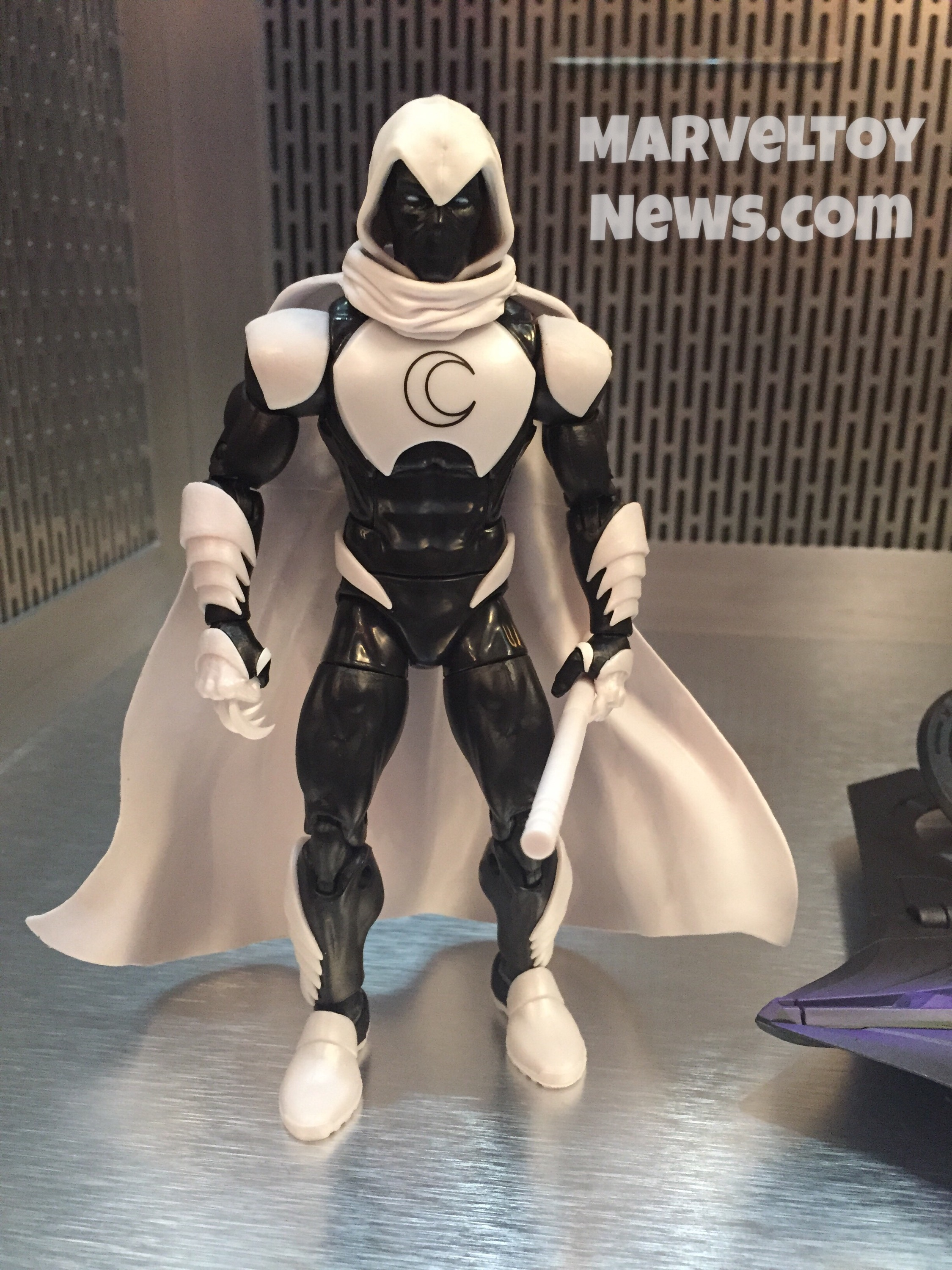 MARVEL LEGENDS SPIDER-MAN HOMECOMING MOON KNIGHT from VULTURE SERIES