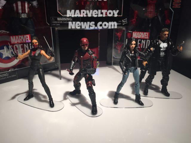 Toy Fair Netflix Marvel Legends Series Figures
