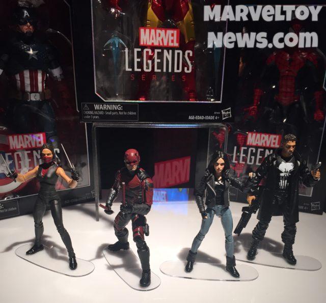 Netflix Marvel Legends Figures Toy Fair 2017 Hasbro