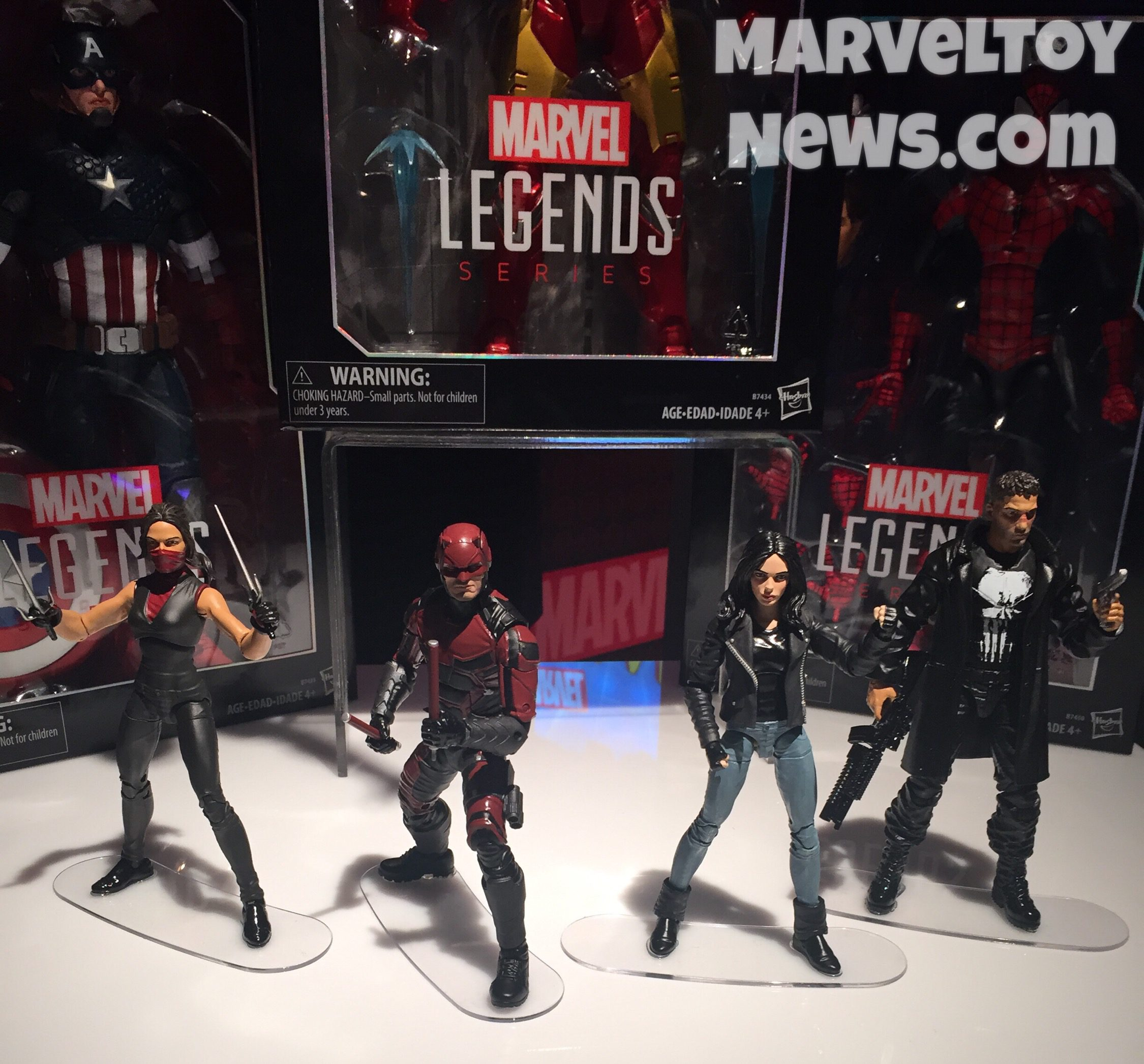 The First Netflix Daredevil Trailer Is Out: Toy Fair 2017: Netflix Marvel Legends Figures! Daredevil