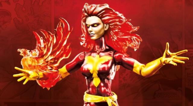 Toy Fair 2017 Marvel Legends Dark Phoenix 6 Inch Figure