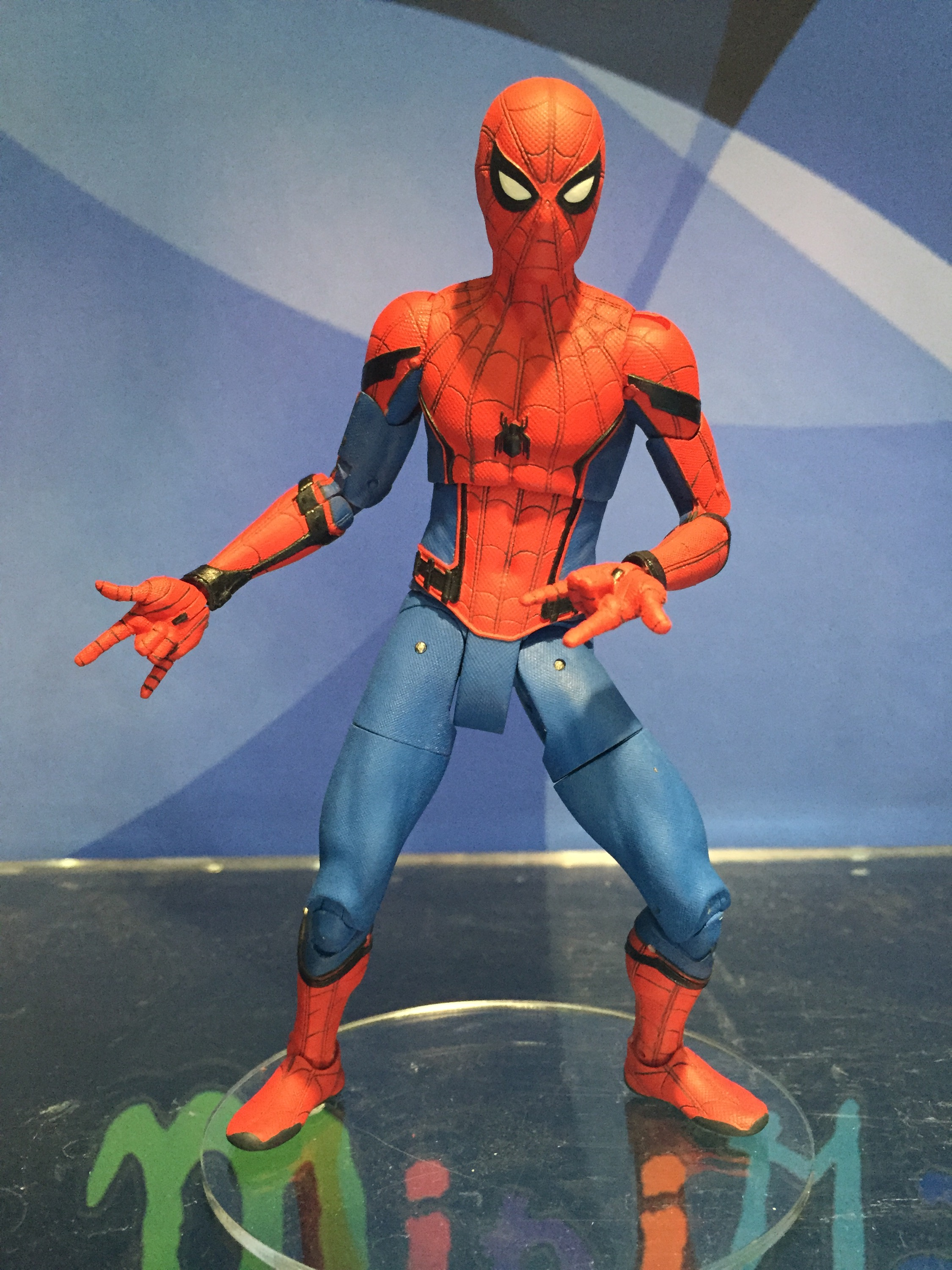 Homecoming Spider Man Toys : Toy fair marvel select spider man homecoming star lord