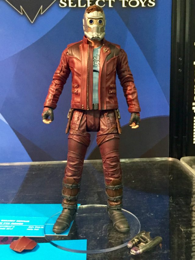 Toy Fair Marvel Select Star-Lord Figure