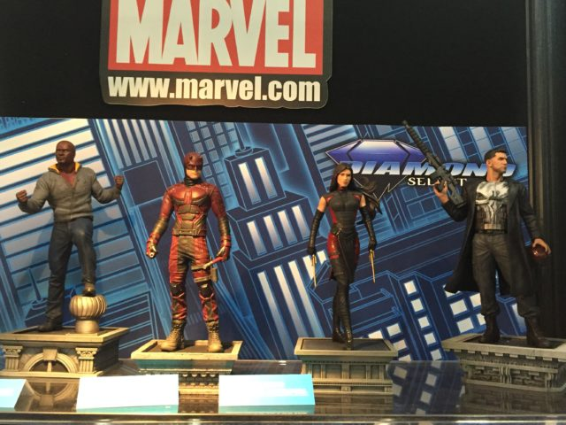 Marvel Gallery Netflix Daredevil Statues New York Toy Fair 2017