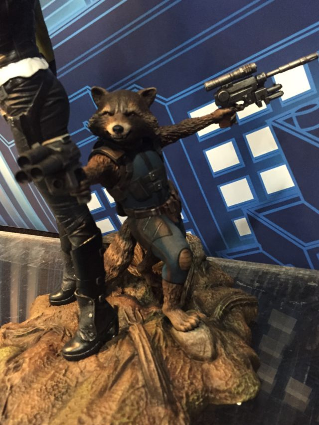 Marvel Gallery Rocket Raccoon Statue Diamond Select Toys