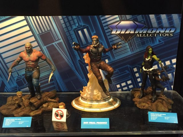 Toy Fair Marvel Gallery Guardians of the Galaxy Vol. 2 Statues