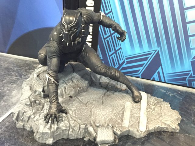 DST Civil War Black Panther PVC Statue
