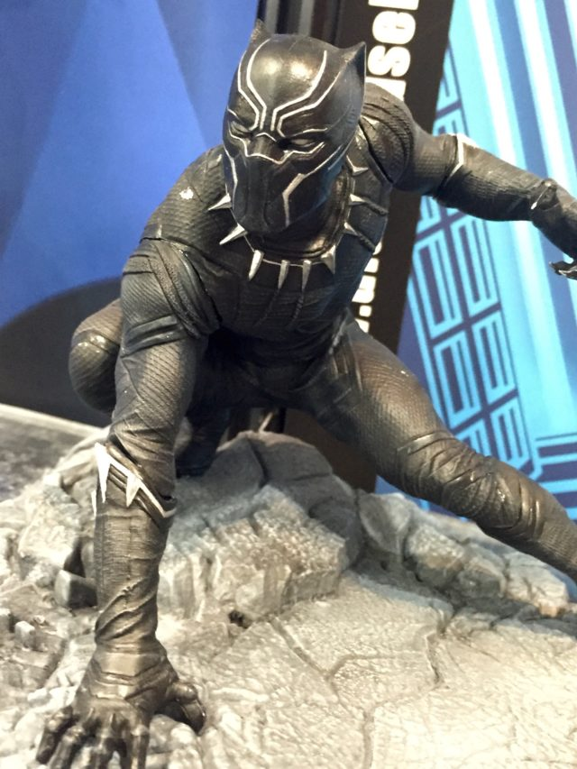 Marvel Gallery Civil War Black Panther Statue Toy Fair