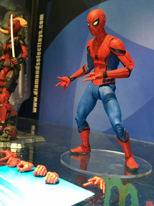 2017 Toy Fair DST Spider-Man Homecoming Action Figure