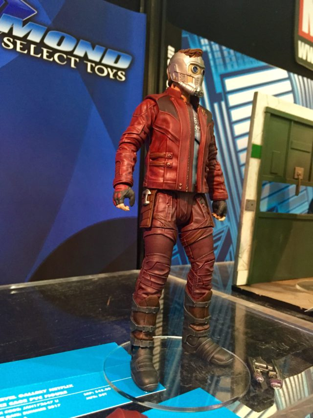 Marvel Select Star-Lord Action Figure at 2017 Toy Fair