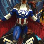 Toy Fair Marvel Gallery Black Panther & Falcon Captain America!