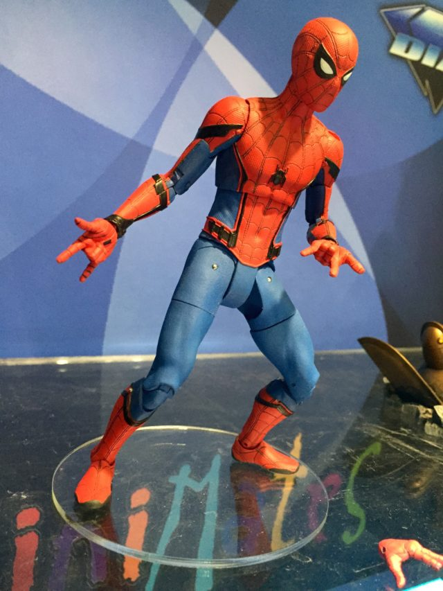 New York Toy Fair 2017 Marvel Select Spider-Man Homecoming 7 Inch Figure