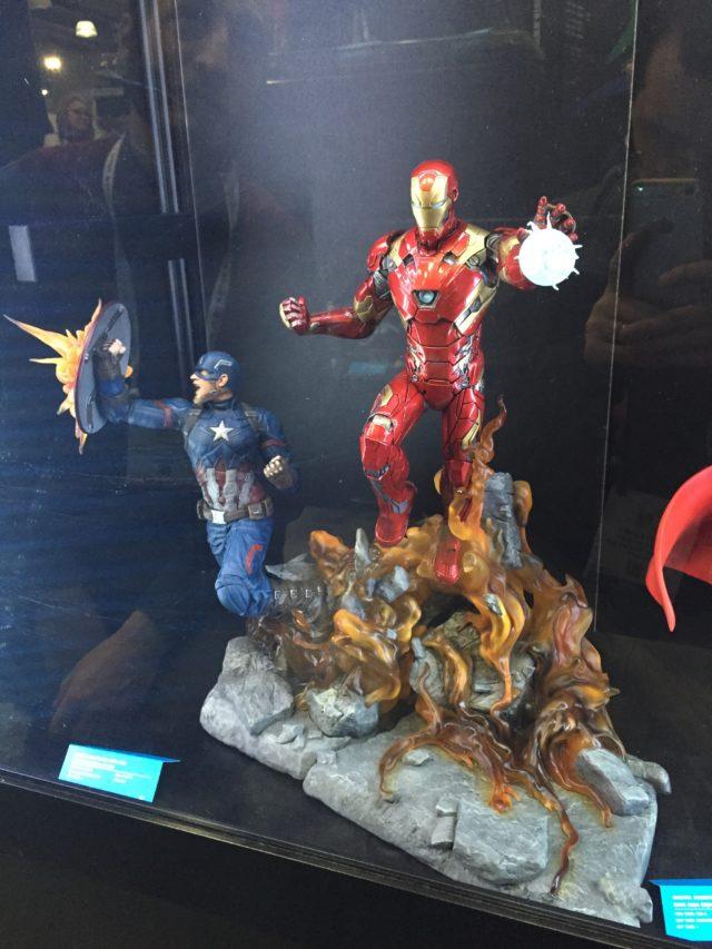 Civil War Iron Man Statue Toy Fair 2017 Diamond Select Toys Resin