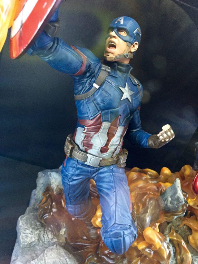 Toy Fair 2017 Diamond Select Captain America Civil War Statue