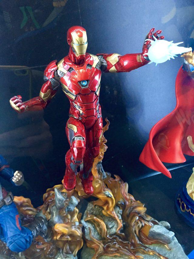 Civil War Iron Man Statue DST Toy Fair 2017