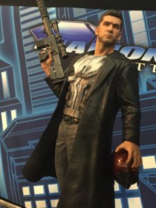 Toy Fair Netflix Punisher Marvel Gallery Statue Close-Up