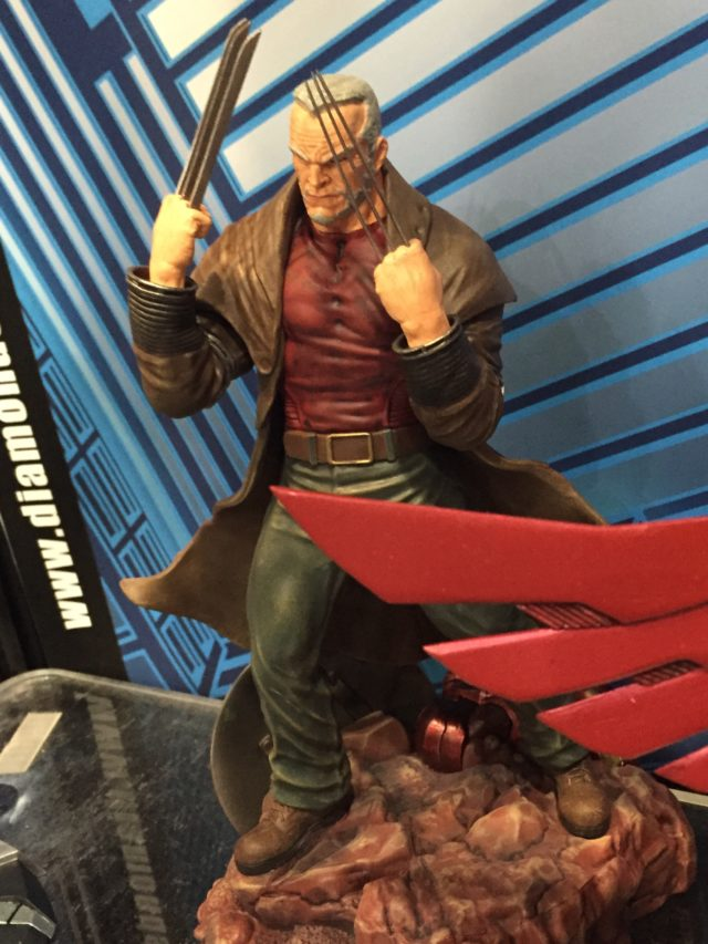 2017 Toy Fair Diamond Select Old Man Logan Marvel Gallery Statue