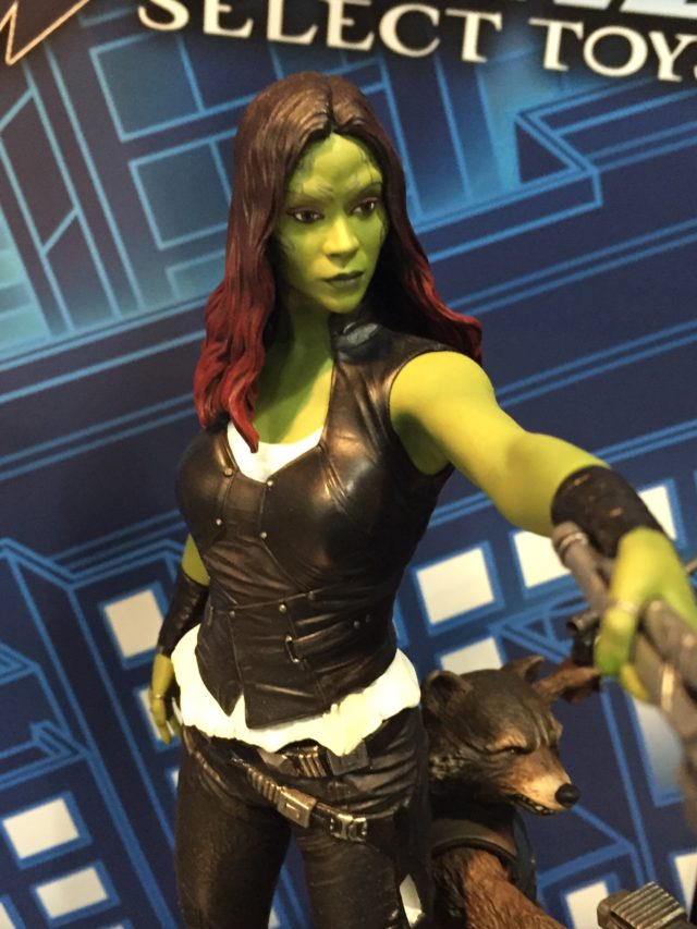 Toy Fair Diamond Select Marvel Gallery Gamora Close-Up