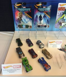 Toy Fair 2017 Hot Wheels Guardians of the Galaxy Vol. 2 Cars