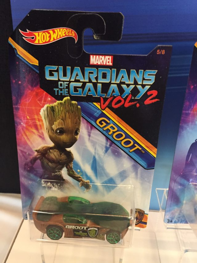 Hot Wheels Guardians of the Galaxy Vol. 2 Cars Groot Packaged