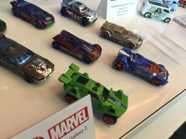 Guardians of the Galaxy Vol. 2 Hot Wheels Toy Fair 2017