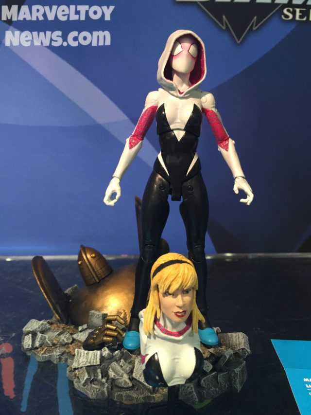 Marvel Select Spider-Gwen Figure Revealed 2017 Toy Fair