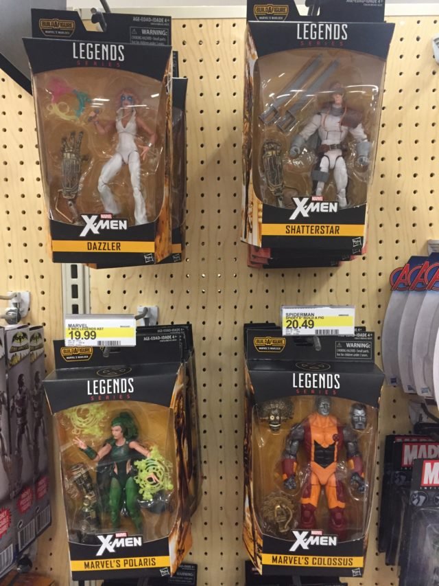 Marvel Legends X-Men 2017 Figures Released