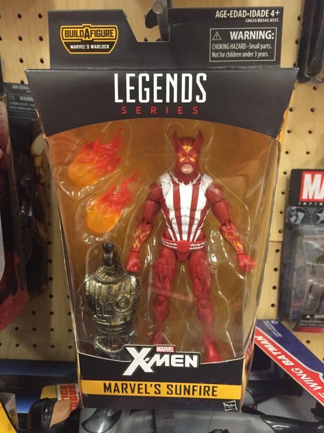 Hasbro 2017 Marvel Legends X-Men Series Sunfire Figure Released