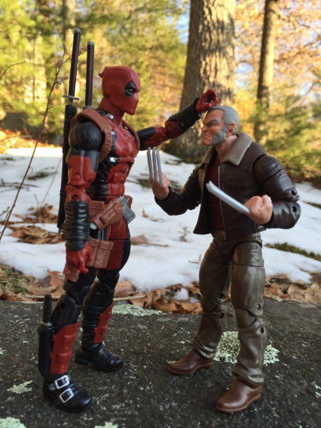 Height Scale Marvel Legends Logan Wolverine Size Comparison 2017
