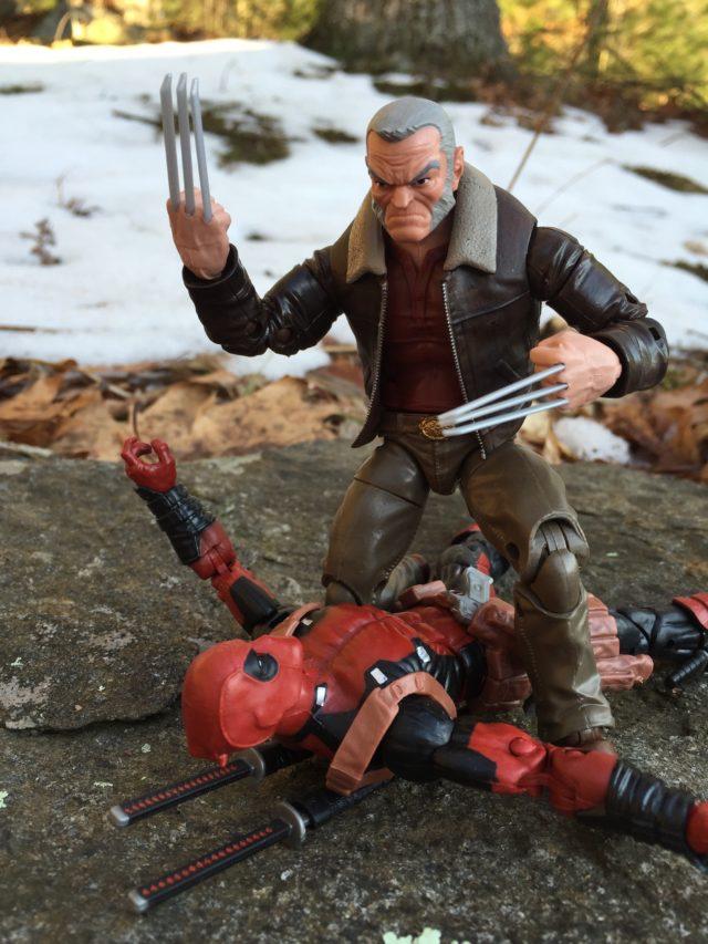 Marvel Legends 2017 Old Man Logan Wolverine Killing Deadpool