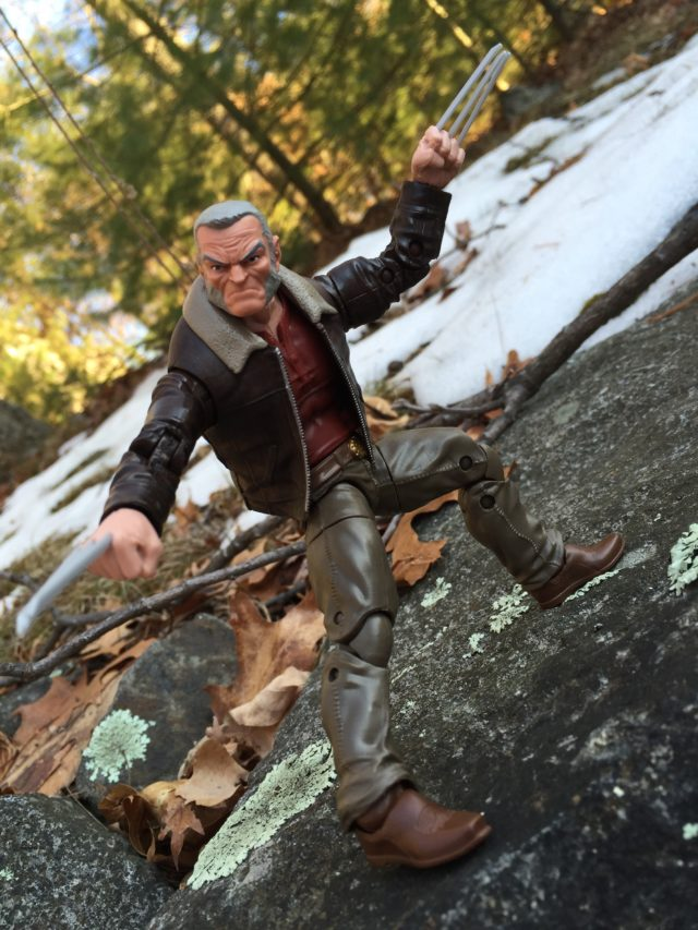 Old Man Logan Marvel Legends X-Men 2017 Figure Posing
