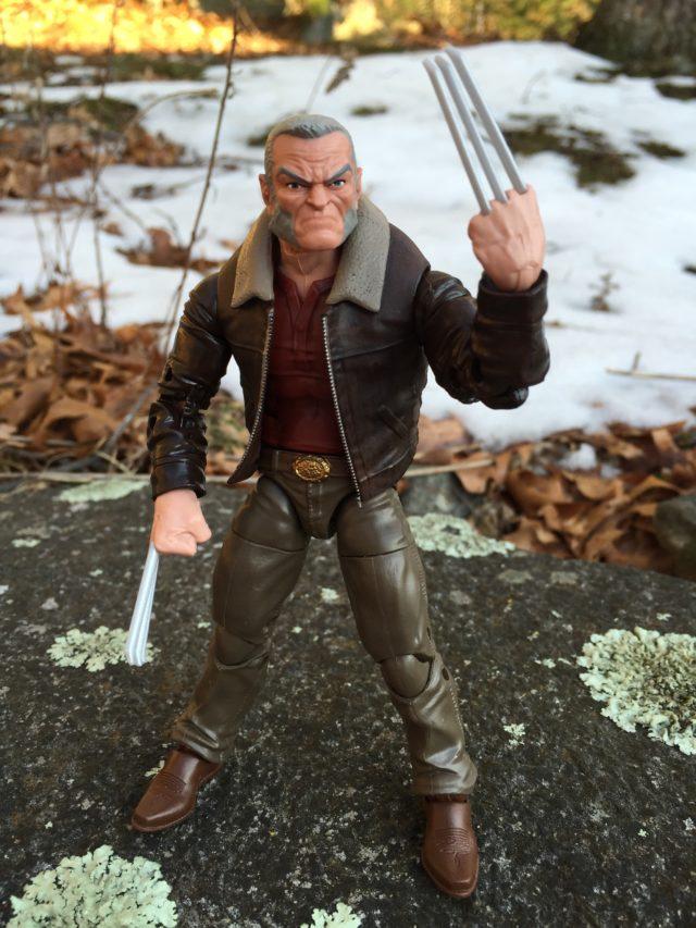X-Men Marvel Legends 2017 Warlock Series Old Man Logan Wolverine Action Figure