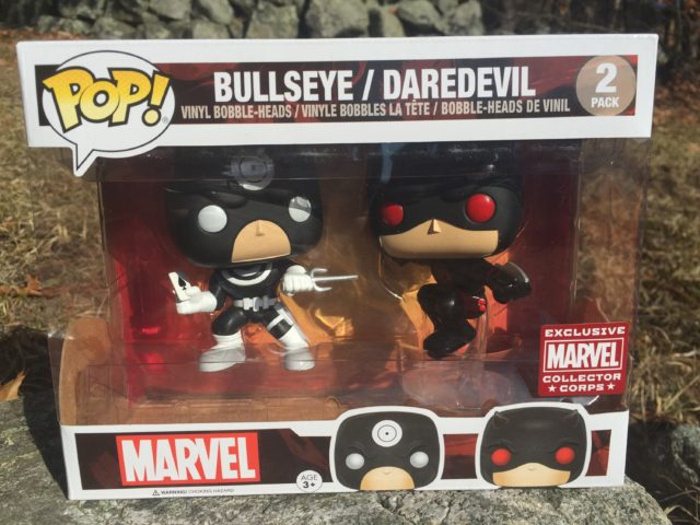 Funko POP Bullseye Daredevil Two-Pack Collector Corps