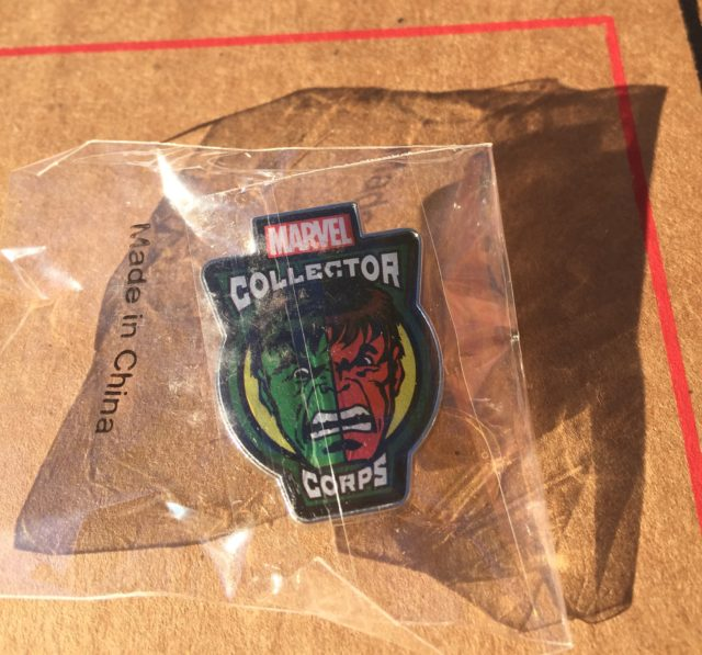 Marvel Collector Corps Red Hulk Green Hulk Pin