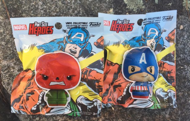 Pint Size Heroes Red Skull Captain America Blind Bags
