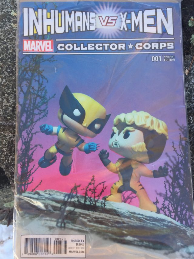 Funko MCC Inhumans Vs. X-Men Issue 1 Variant Cover