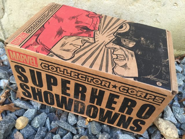 Funko Collector Corps Superhero Showdowns Box Review Unboxing
