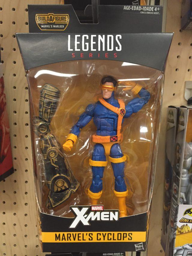 Marvel Legends Cyclops 2017 Figure Released