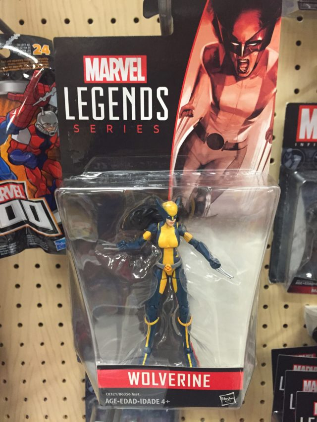 Marvel Legends X-23 Wolverine Figure Released
