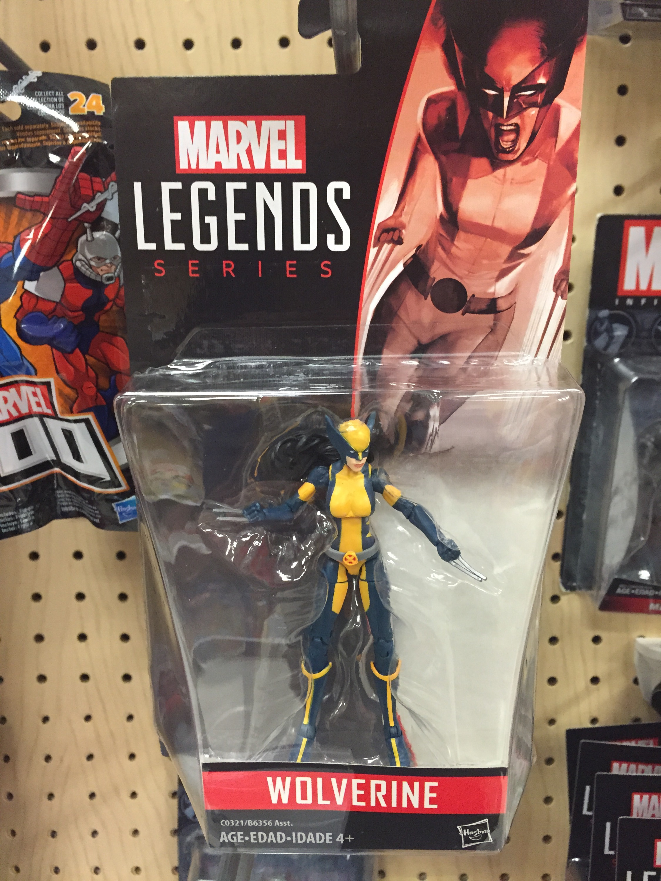 Marvel Legends Series 6-inch X-23 Deadpool Female Wolverine Clone