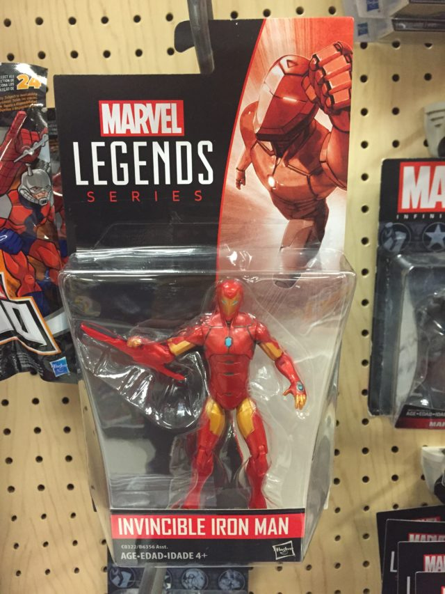 """Marvel Legends 3.75"""" All New All Different Iron Man Figure"""