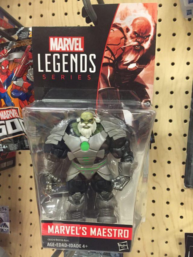 "2017 Marvel Legends 4"" Maestro Hulk Figure Packaged"