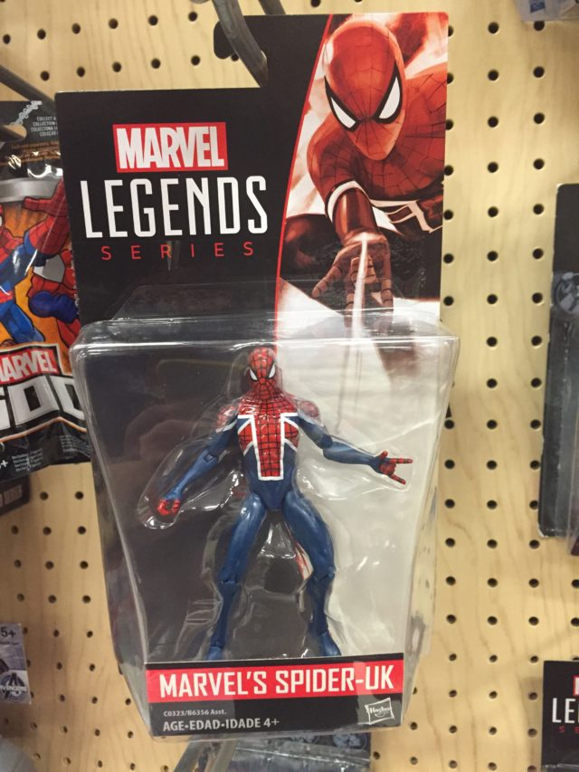 "Hasbro Marvel Universe Spider-UK 3.75"" Figure Packaged"