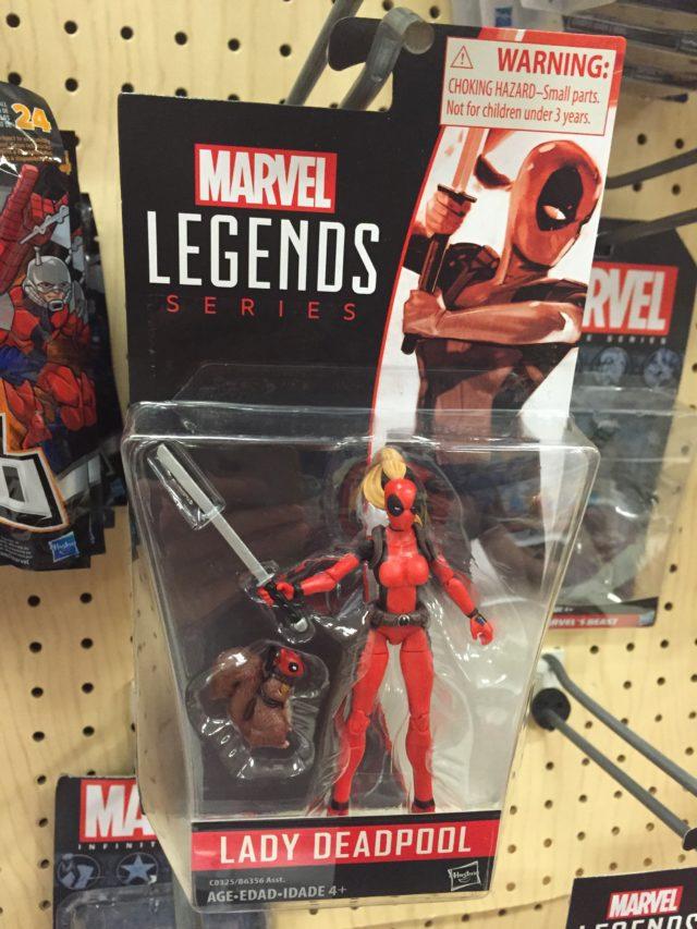 Marvel Legends Lady Deadpool & Squirrelpool Two-Pack