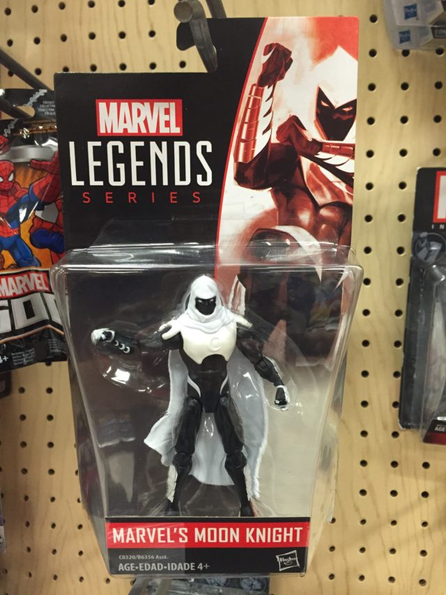 "Marvel Legends 3.75"" 2017 Wave 1 Moon Knight Figure Packaged"
