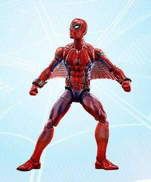 Marvel Legends Web Wings Spider-Man Homecoming Figure