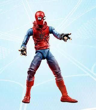 Marvel Legends Homemade Suit Spider-Man Promo Image