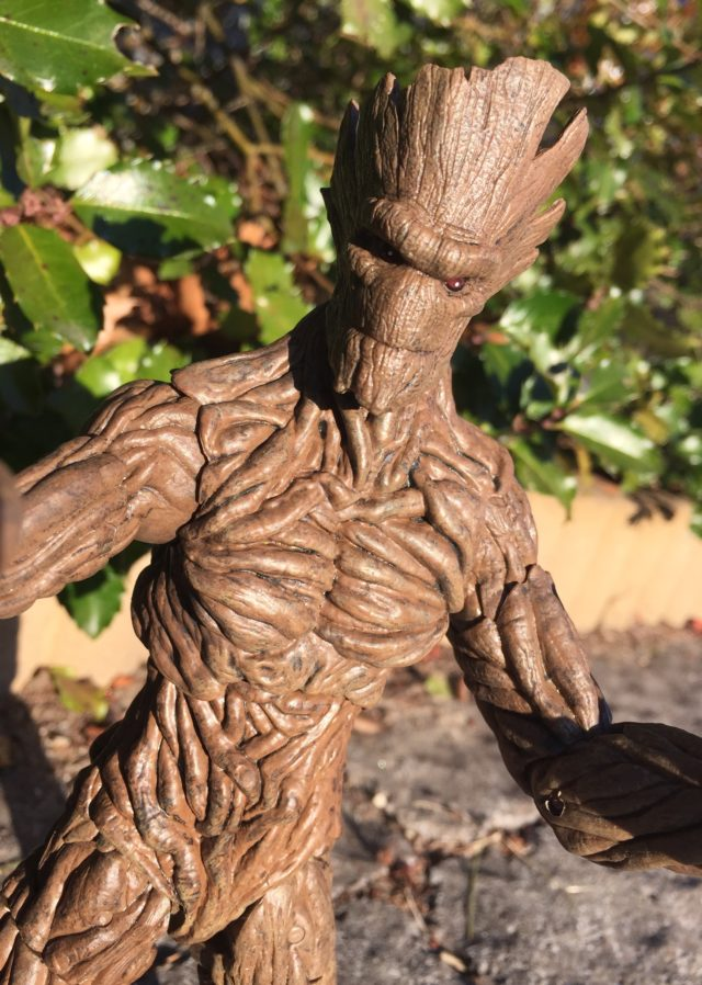 DST Marvel Select Groot Action Figure Close-Up