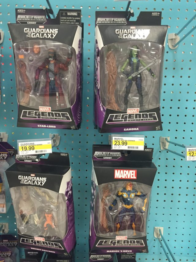 Marvel Legends Guardians of the Galaxy Movie Figures Reissued