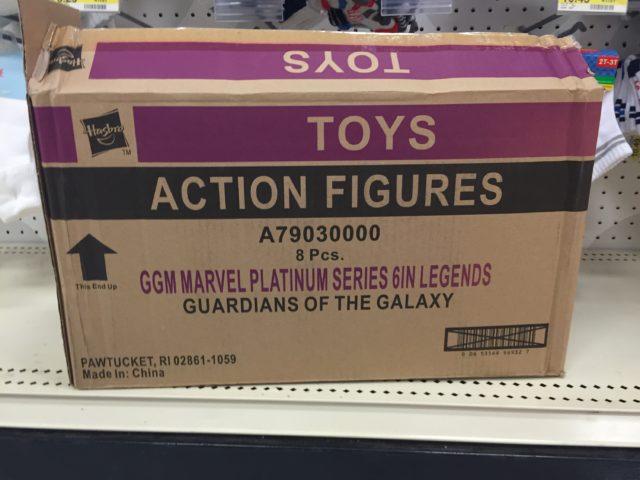 Marvel Legends Guardians of the Galaxy Platinum Series Case